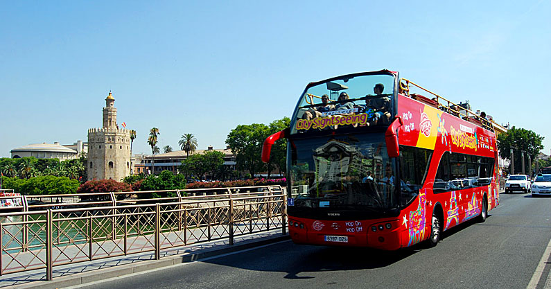 Tour en Autobús Citysightseeing Sevilla | Hotel Patio de Las Cruces